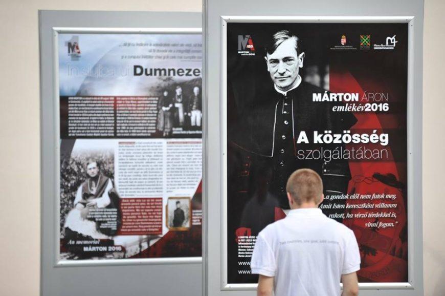 Expoziție Márton Áron